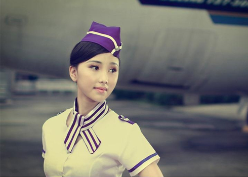 超有气质空姐高贵典雅写真