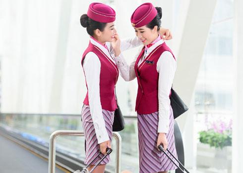 俩位辣妈空姐:不管相隔多远,你是我的姐妹