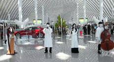 """深圳机场快闪:""""飞鱼乐海,闪耀全城"""""""